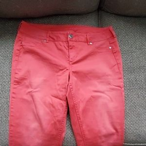 Maurices jegging Large regular coral
